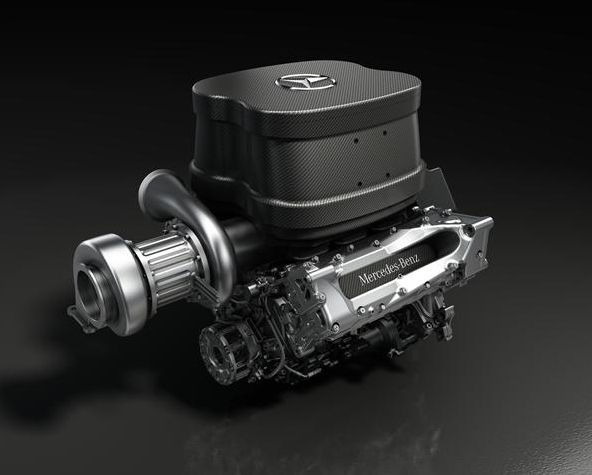 Двигатель Мерседес