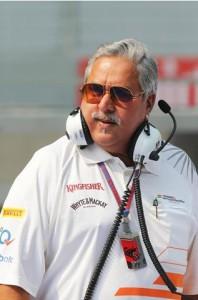 Доктор Виджай Маллья, владелец команды Force India ( Форс - Индия )