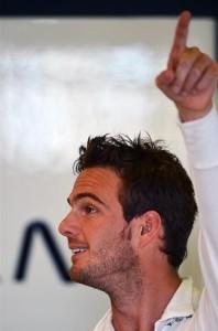 Гидо ван дер Гарде (Нидерланды) Кэйтерем (Сaterhem) CT03.Формула 1.Чемпионат мира.Гран при Австралии.Альберт-Парк.Квалификация.Суббота 13 марта 2013 года