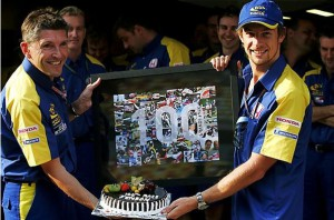 Дженсон Баттон и Ники Фрай,100-я Гран-при Баттона