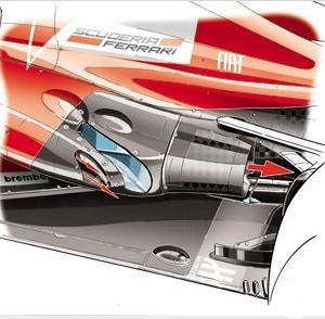 Формула 1.Cезон 2013 года.Гран при Малайзии.Феррари (Ferrari) F138.Обновления.