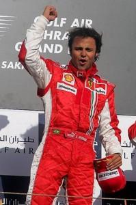 Филиппе Масса Феррари ,победитель Гран-при Бахрейн 2007