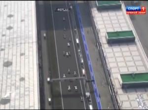 Гран-при Китай,старт,опасный момент Баттон-Рикьярдо