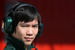 Ма Цин Хуа (Китай),первый китайский пилот в Формуле 1