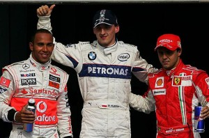 После Квалификации,Роберт Кубица,Филлипе Масса,Льюис Хемильтон,Гран-при Бахрейн 2008