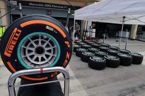 Шины Пирелли комплект (Hard) для Мерседес,на Гран-при Бахрейн