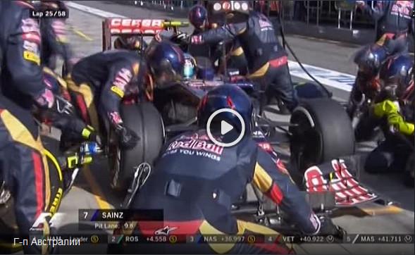 Смотреть гонку Гран-при Австралии 2015