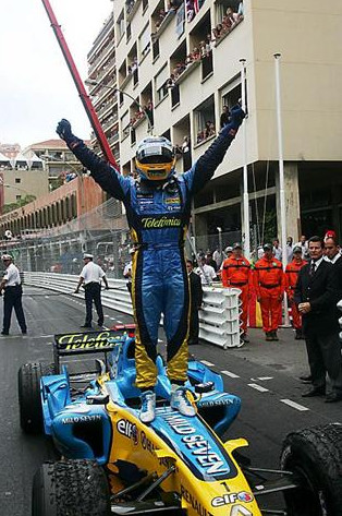 Фернандо Алонсо победитель Гран-при Монако 2006