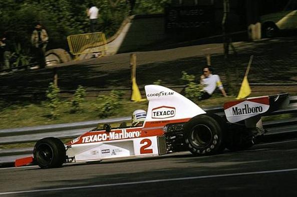 Йохен Масс (Макларен) победитель Гран-при Испании