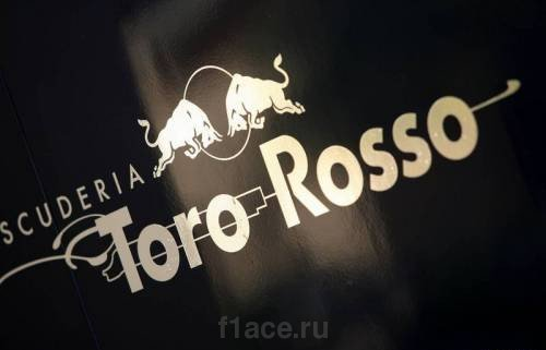 Логотип команды Торо Россо Ф1