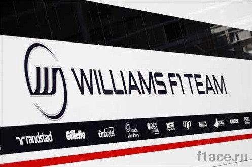 Логотип команды Уильямс Ф1