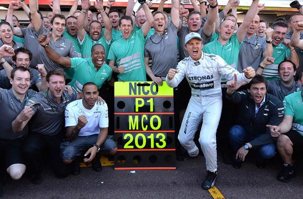 Нико Росберг (Мерседес) победитель Гран-при Монако 2013