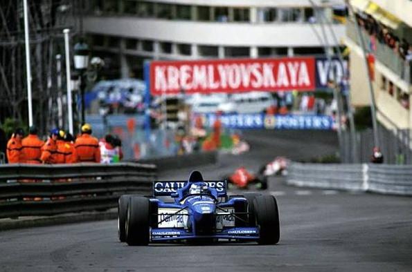 Оливье Панис (Лагиер) победитель Гран-при Монако 1996 года