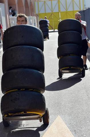 Шины Пирелли, Гран-при Монако