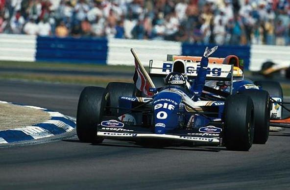 Дэймон Хилл, победитель Гран-при Великобритании 1994