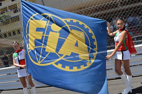 Флаг FIA, Гран-при Монако