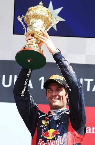 Марк Уеббер победитель Гран-при Великобритании 2012