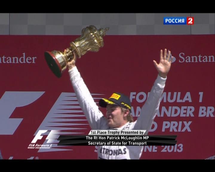 Нико Росберг победитель Гран-при Великобритании