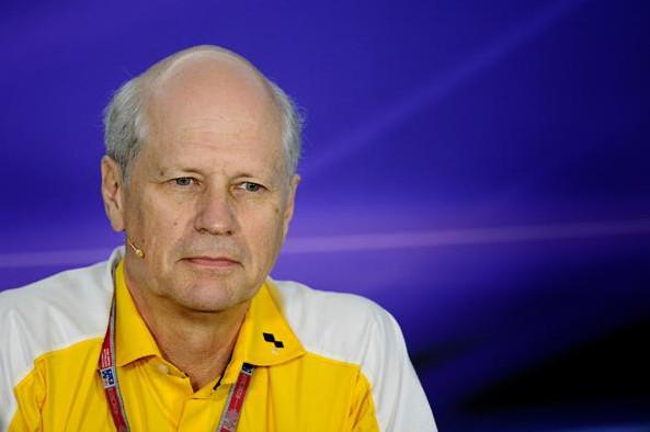 Жан-Мишель Жалиньер, президент Рено Спорт Ф1, на Гран-при Австралии