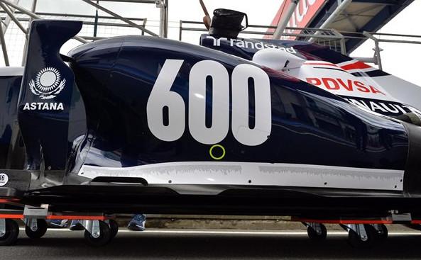 Болид Уильямс, 600-е Гран-при