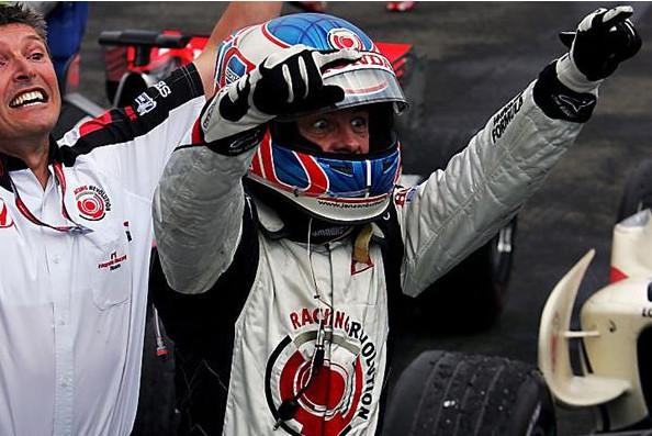 Дженсон Баттон, победитель Гран-при Венгрии 2006