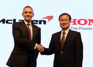 Двигатели Хонда (Ясухиса Аграй)для команды Макларен в 2015 году.