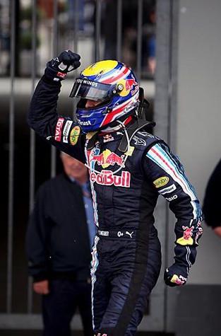 Марк Уеббер победитель Гран-при Германии