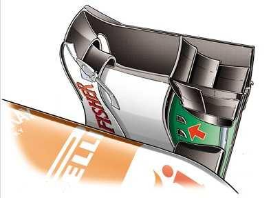 Обновления Форс Индии на Гран-при Германии