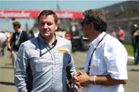Пол Хембри (Великобритания) директор мотоспорт Пирелли