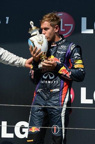 Себастьян Феттель третье место на Гран-при Венгрии