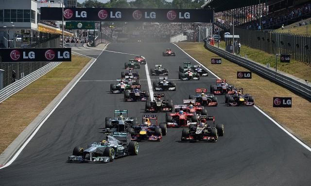 Старт Гран-при Венгрии 2013