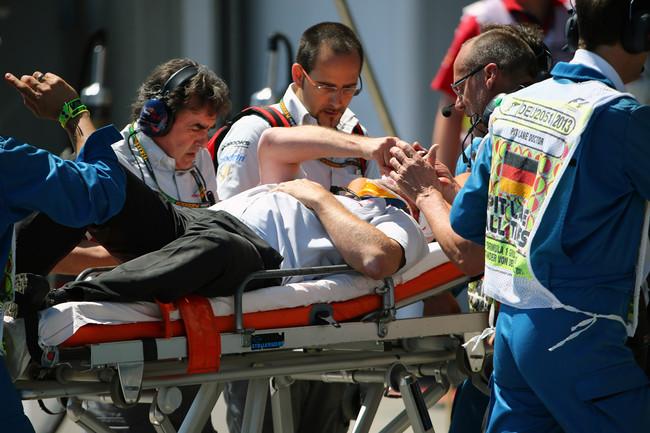 Пола Алена увезли в больницу