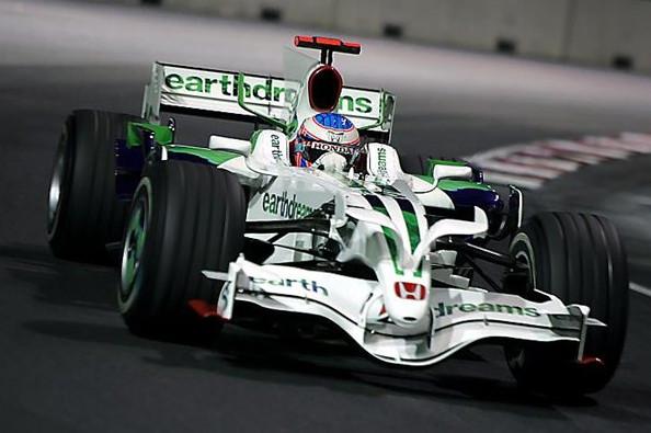 Дженсон Баттон (Хонда) Гран-при Сингапура 2008