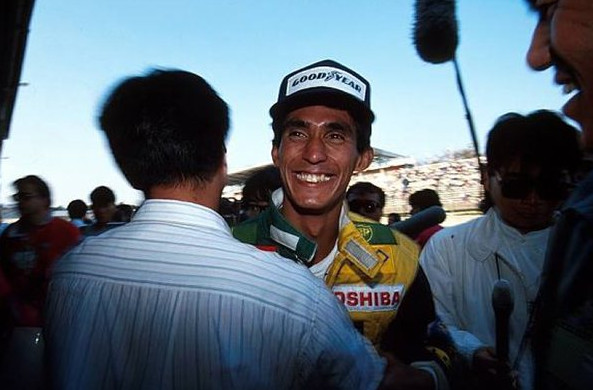 Агури Сузуки, третье место на Гран-при Японии 1990 год