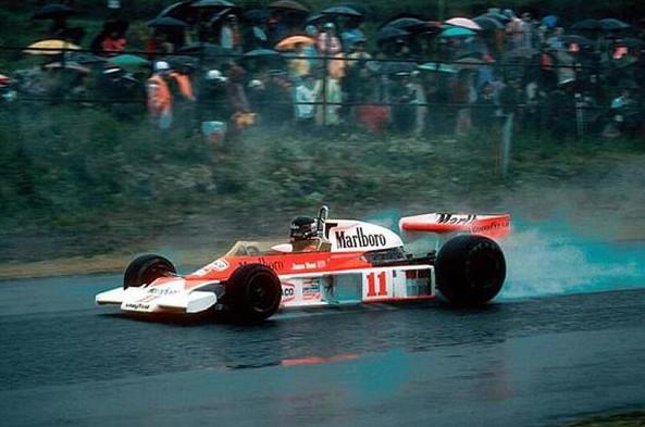 Джеймс Хант, третье место на Гран-при Японии в 1976
