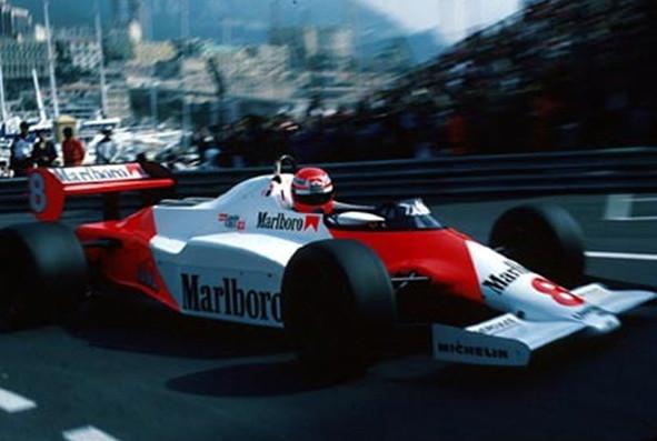 Ники Лауда (Макларен) Монте Карло,Май 1983