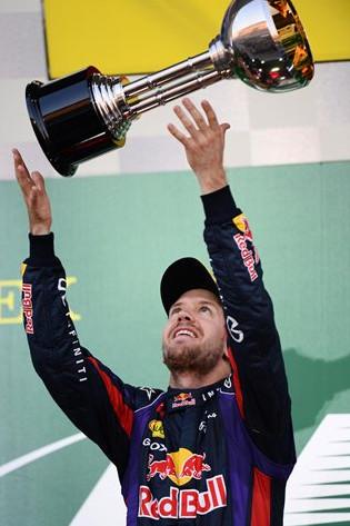 Себастьян Феттель (Ред Булл), победитель Гран-при Японии 2013