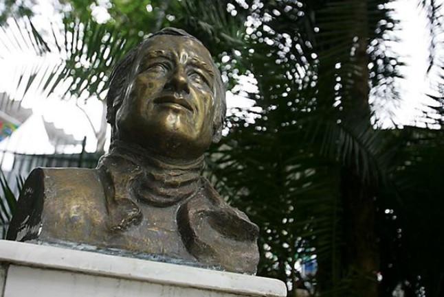 Бюст Карлоса Пасе, на автодроме Интерлагос