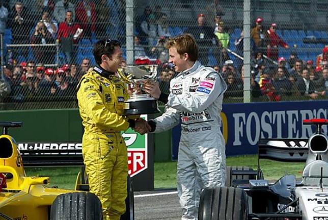 Джанкарло Физикелла и Кими Райкконен, Гран-при Сан-Марино
