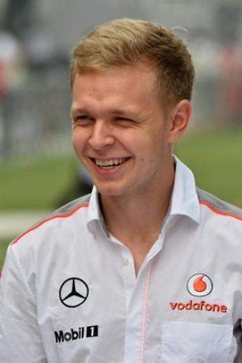 Кевин Магнуссен пилот команды Макларен на сезон 2014