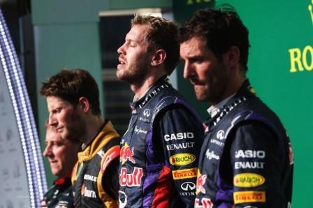 Подиум Гран-при США 2013, Формула 1