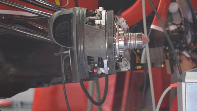 Феррари F14Т Кими Райкконена, передний тормозной диск