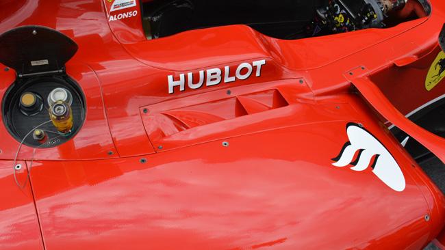Феррари F14Т, детали ассиметричной системы охлаждения на гран-при Австрии