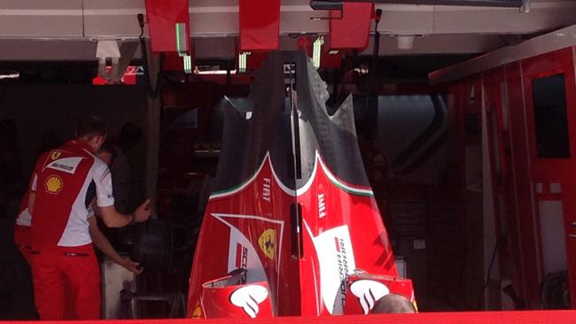 Феррари F14Т, капот на гран-при Австрии