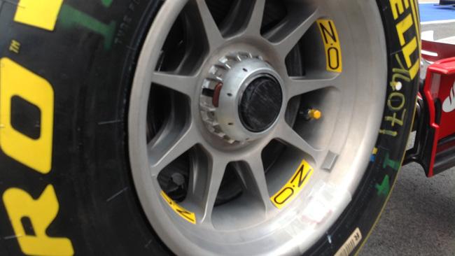 Феррари F14Т, выдувные втулки