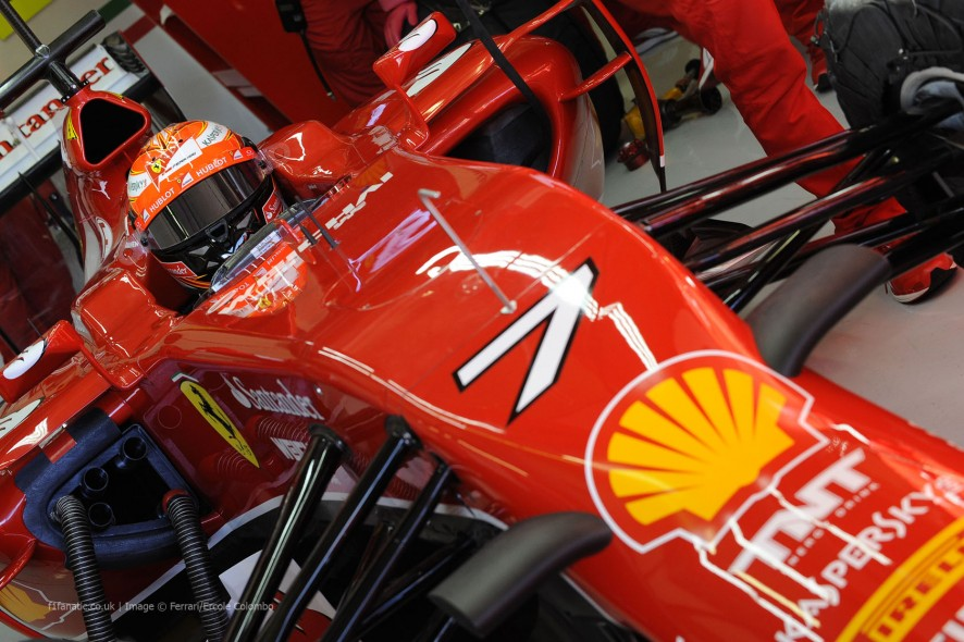 Болид Феррари F14T