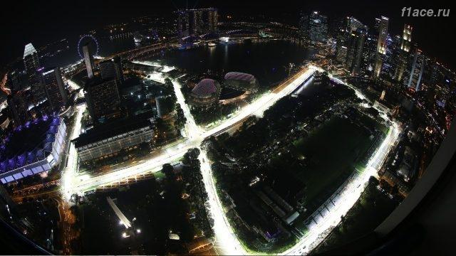 Краткая история проведения гран-при Сингапура на Марина Бей.