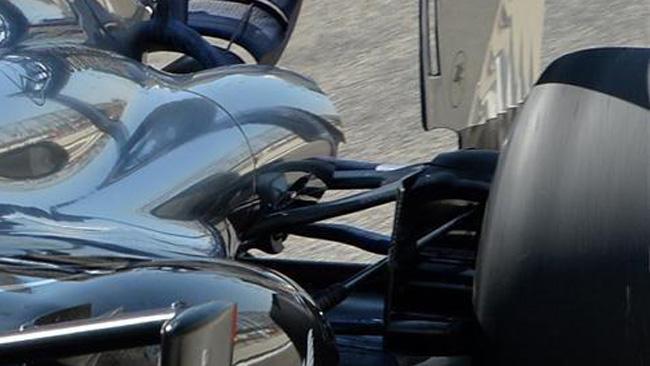 Макларен MP4-29 работа над аэродинамикой задней оси