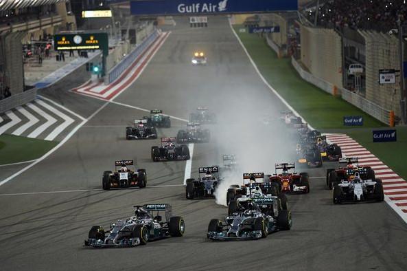 Старт на Сахире 2014.Гран-при Бахрэйн.Провал Феттеля,подиум Переса,полёт Гуттьерез