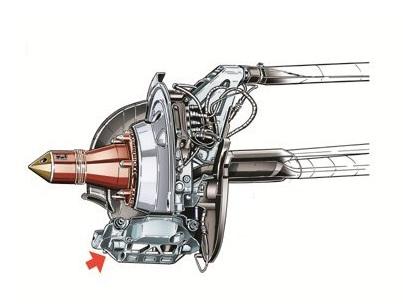 Заубер C33, уменьшение количества элементов в задних тормозах